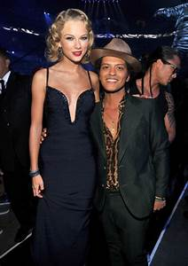 The gallery for --> Bruno Mars Taylor Swift Height