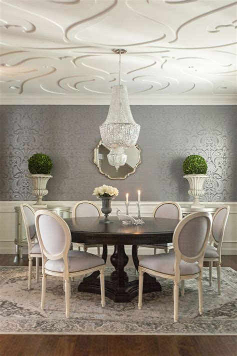 breathtaking dining room wallpapers