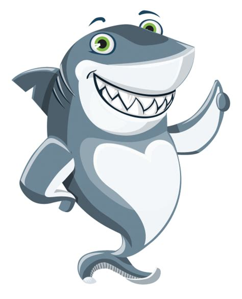 Shark Vector PNG Transparent Image - PngPix