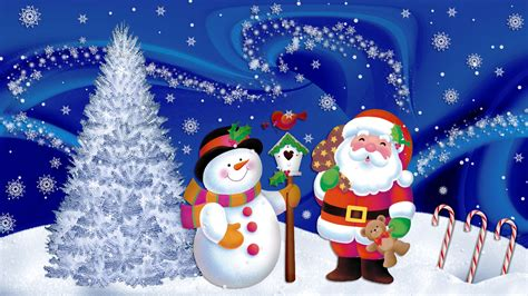 Santa Claus Animated Wallpaper - animated wallpapers free snowman and