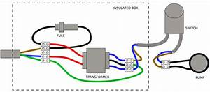 Wiring - Connecting A Pump To Wall Socket Using A Transformer