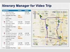 Plan My Trip New Sales Trip Planning Software