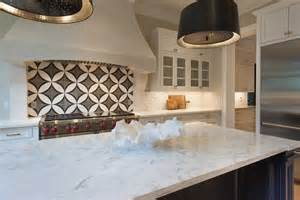 backsplash for black and white kitchen black and white circle kitchen backsplash tiles transitional kitchen
