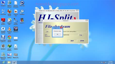 md checksum  file  hjsplit md