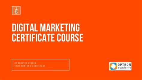 digital marketing course details digital marketing course details