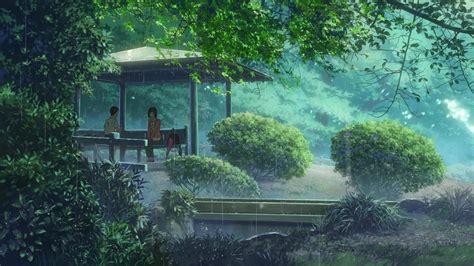 Makoto Shinkai Wallpaper Hd The Garden Of Words 言の葉の庭 Kotonoha No Niwa Is A Animebackgrounds