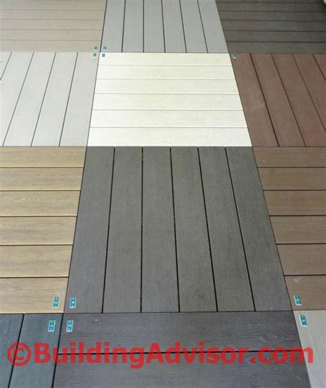 compare flooring materials 50 best images about trex on pinterest white vinyl deck skirting and decks