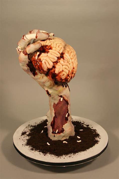 ideas  zombie cakes  pinterest zombie
