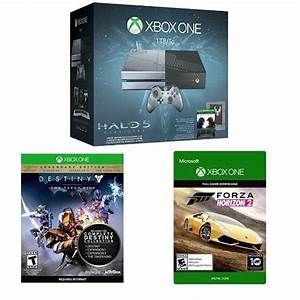 Xbox One 1TB Console - Halo 5: Guardians Limited Edition ...