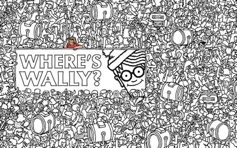 Where's Wally? The Colouring Collection, Where