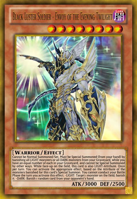 black luster soldier envoy of the evening tw by