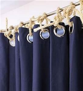 Oeillet Pour Rideau : la d coration marine en 50 photos inspirantes style home and photos ~ Teatrodelosmanantiales.com Idées de Décoration