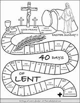Lent Thecatholickid Careme Connaitre Religieuse Catholique Cnt sketch template