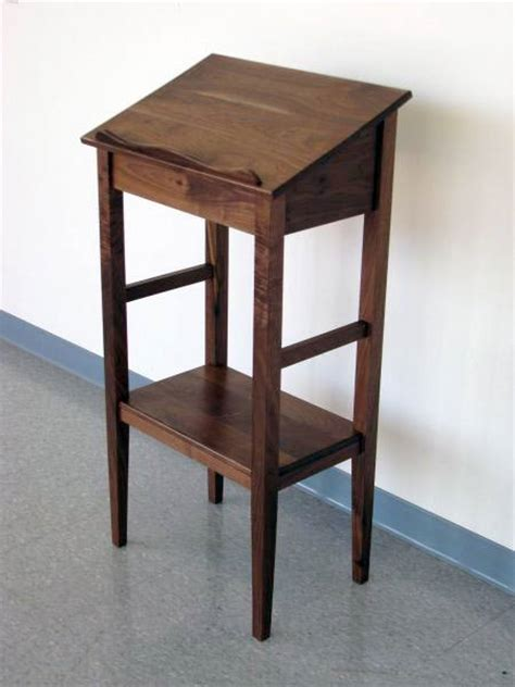primitive kitchen furniture walnut dictionary stand circle of woodworking