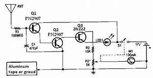 Ion Detector Circuit Diagram Electronic Project Under Repository-circuits