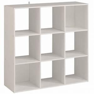 étagère De Séparation : kame tag re meuble contemporain d cor blanc mat l 91 cm achat vente meuble tag re kame ~ Teatrodelosmanantiales.com Idées de Décoration