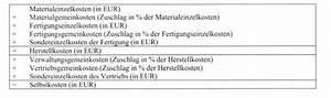 Zuschlagssatz Berechnen : zuschlagskalkulation das wirtschaftslexikon com ~ Themetempest.com Abrechnung
