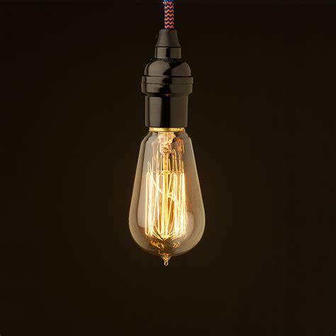 hanging light bulbs bare bulb pendant edison light globes pty ltd
