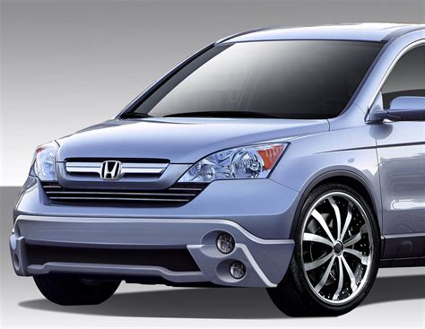 Honda Crv Front Bumpers, Honda Cr-v Type M Style Front Lip