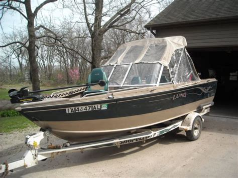 Lund Boats For Sale In Iowa by 2000 Lund 1700 Adventure Sport Fishing Boat For Sale In