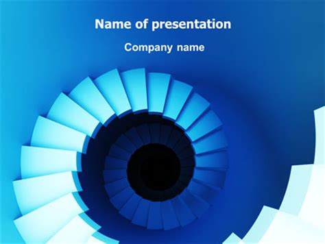 spiral stairs  template  powerpoint