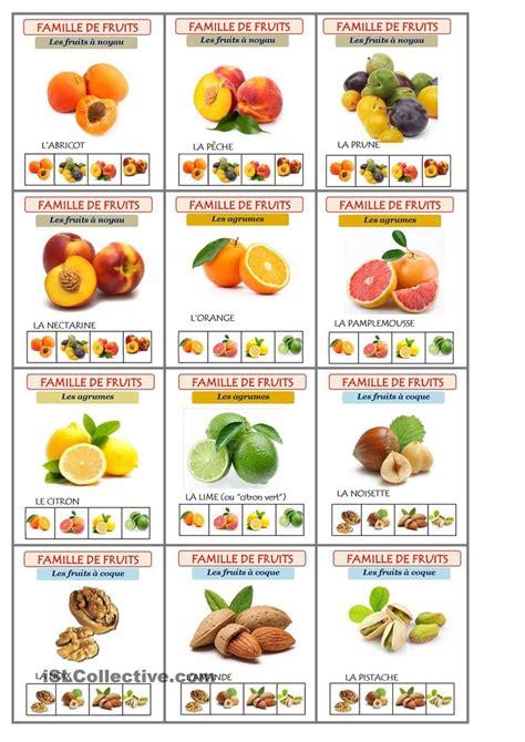 legumes de la famille des potirons jeu les sept familles de fruits ressources centr 233 es sur l 233 tudiant fruit et imprimables