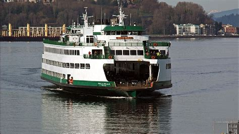 Ferry Boat Hours by Ferry Woes Lead To Hours Delays On Edmonds Kingston