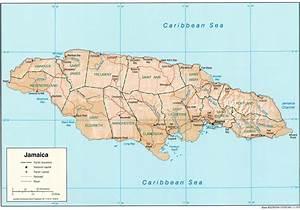 Carte Du Monde Metallique : carte jama que et map g ographie de jama que ~ Teatrodelosmanantiales.com Idées de Décoration