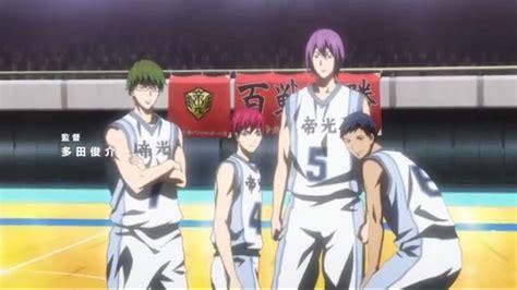 Anime Kuroko No Basket Season 3 Kuroko No Basket Season 3 Anime Amino