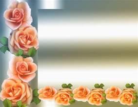 Flower Frame PowerPoint Templates