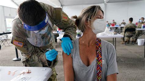 Maryland Gov. Hogan tours Germantown vaccine site | wusa9.com