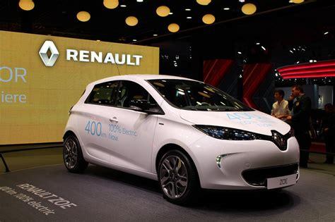 renault zoe  dominates europe electric car sales