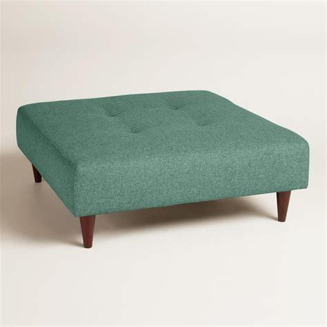 Ottoman Upholstery by Chunky Woven Albin Upholstered Ottoman World Market