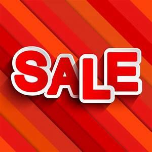 Red Slash Sale Vector | Free Vector Graphic Download