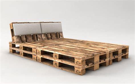 palettenbett mit lattenrost palettenbett bauen ganz einfach hier 2 praktische varianten