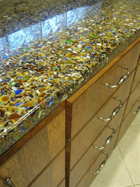 recycled countertops 1000 images about vetrazzo recycled glass countertops on pinterest a natural naples and cement