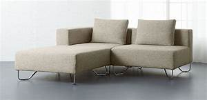 Contemporary small sofas modern sofa table as well hangout for Small sectional sofa reviews