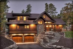 Rustic, Houses, Design, Ideas