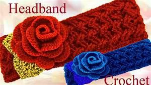 Bandas Para El Cabello Tejidas A Crochet Y Dos Agujas ...