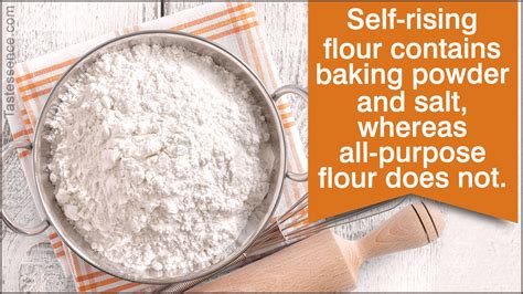 rising flour   purpose flour   difference