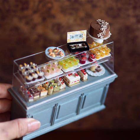miniature antique dollhouse furniture  japanese artist