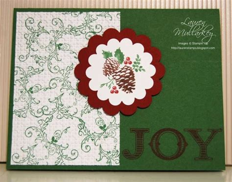 pines poinsettia joy  laurenmullarkey cards