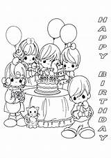 Coloring Birthday Happy Printable Precious Moments Mom Adults Sheets Sheet Cards Printables Ananias Sapphira Colouring Cake Colour Adult Birthdays Parties sketch template
