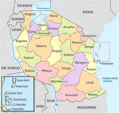 filetanzania administrative divisions de colored