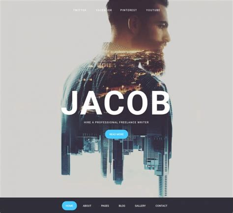 cool website themes templates design trends