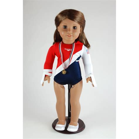 Gymnastics Doll Outfit (fits American Girl Dolls) only $6.60 shipped (reg $34.99)