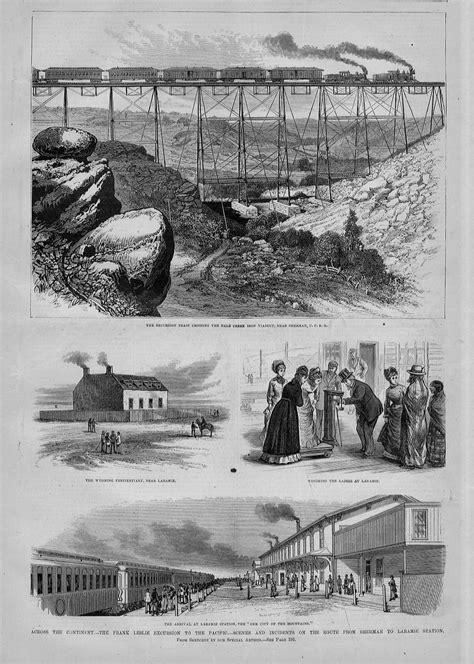 railroad bridge steam engine crossing dale creek