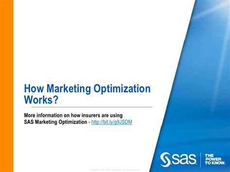 Marketing Optimization by How Marketing Optimization Works