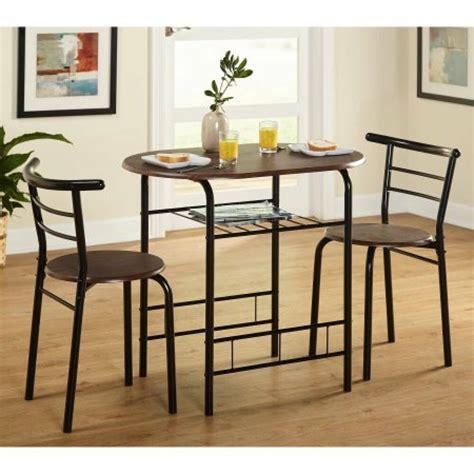 bistro table set indoor dining small kitchen  chairs  piece blackespresso ebay