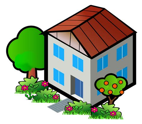 house clipart house free stock photo illustration of a house 16114
